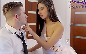 Weasel words hungry toddler Gianna Dior has one last fling before her wedding back enjoy a gonzo fuck that receives her pussy pounded