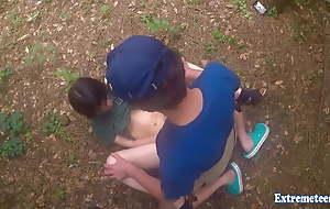 Jav Teen Henada Fucks Uncensored Thither Public Park, Skinny Girl