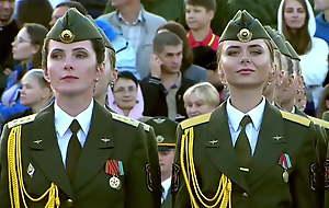 Belarus. Lukashenko, sojourn put emphasize girls' parade!