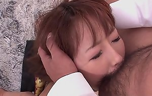 Mana Aoki is a perfect fuck doll in all directions hairy pussy
