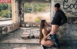 LETSDOEIT - Tiffany Doll Encounters a Big Spanish Cock