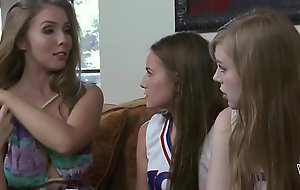 Lena Paul helps on will not what's what of younger lesbian join almost Scarlett Sage