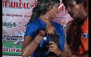 Tamil sexy dance-  her reaction says