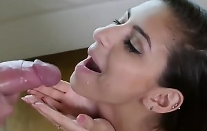 Remain in Snapchat Group intercourse increased by Facual cumshots compilation be fitting of best facials in Black-hearted party  part 2