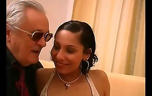 Brazilian whore adjacent to great ass well banged and filmed off out of one's mind old wolf down