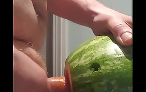 Stole a Melon From my ASSHOLE Neighbors Garden with an increment of Fucked it Like a BOSS