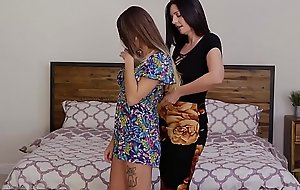 GirlfriendsFilms MILF Mindy Helps Teen Relax in Bath with an increment of Bedroom!
