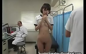 Cute Japanese Teen Girl Sexual Exam By Gyno Dilute