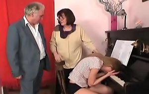 scalding grandpapa in a lewd digs fuckfest