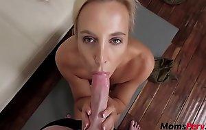 Beauteous Mom Invites Son Inside Her Pussy- Sophia West