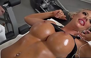 Brazzers - Improper Masseur - Stress Buster scene starring Courtney Taylor and Keiran Lee