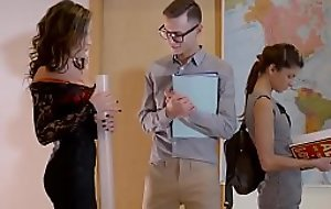 Deport oneself Jocular mater Lessons - Naughty By Nature  starring  Gina Gerson and Charlie Dean and Niki Loved clip