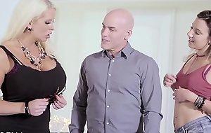 MILF Alura Jenson Loves Being Surprised By Hubby &_ Teen Mistress