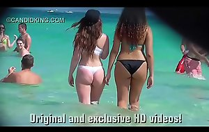 Have on the agenda c trick see teen PAWG in a thong bikini on the strand in public!