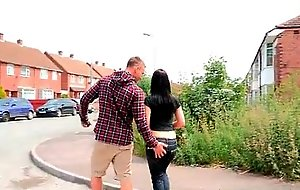 Adorable legal age teenager wife from slay rub elbows with uk engulfing