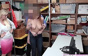 Busty Teen Suspect Immediately Apprised of To Theft