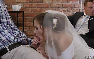 VIP4K. Rich man pays well to fuck hot young pet on her wedding day