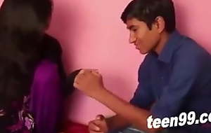 Desi tuition buddies hot romance ever Indian