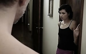 Babysitter teen screwed by the creepy dads huge boo-boo