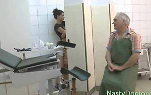 Cruel doctor perverts his patient