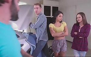 Brazzers - Teens Take a crack at a fondness It Big -  Fixer-Upper Young gentleman Stuffer instalment starring Gina Valentina, Lily Jor