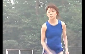 Sexy Japanese legal age teenager athletes doing nude
