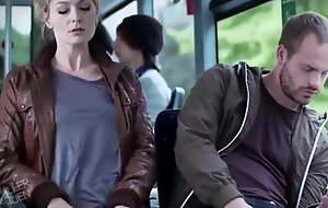 Sexy encounter on a bus