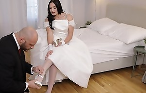 RIM4K. Strong cadger hither awesome wedding suit deserves gentle anal drilling