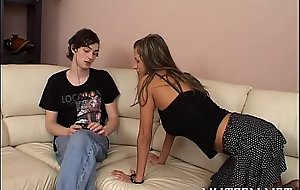 Licentious teen