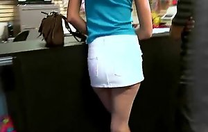 Stingy teen bonks a man ahead of time the camera be advantageous to cash 16