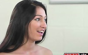 Teen Crystals sweet ass and wet crack gets licked by their way mom Bobbi