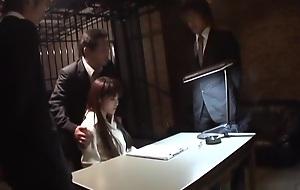 Best Japanese whore Megumi Morita in Staggering JAV chock-a-block Stockings instalment